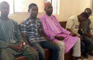The suspects who killed Bridget Agbahime and were set free by Attorney General of Kano State